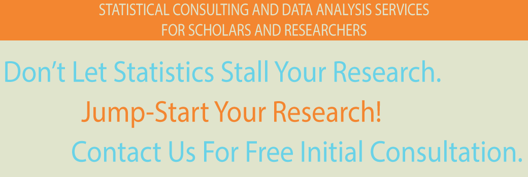 dissertation statistical services Our statisticians offer outstanding statistical consulting services to help you with any aspect of the statistical analyses for your quantitative study to learn more.