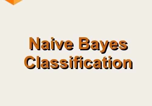 Naive Bayes Classification