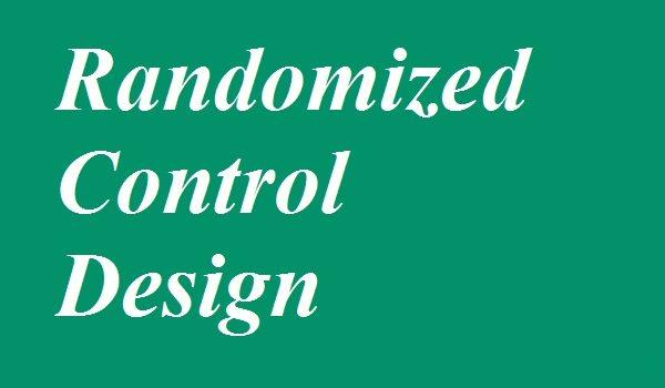 Randomized Control Trial